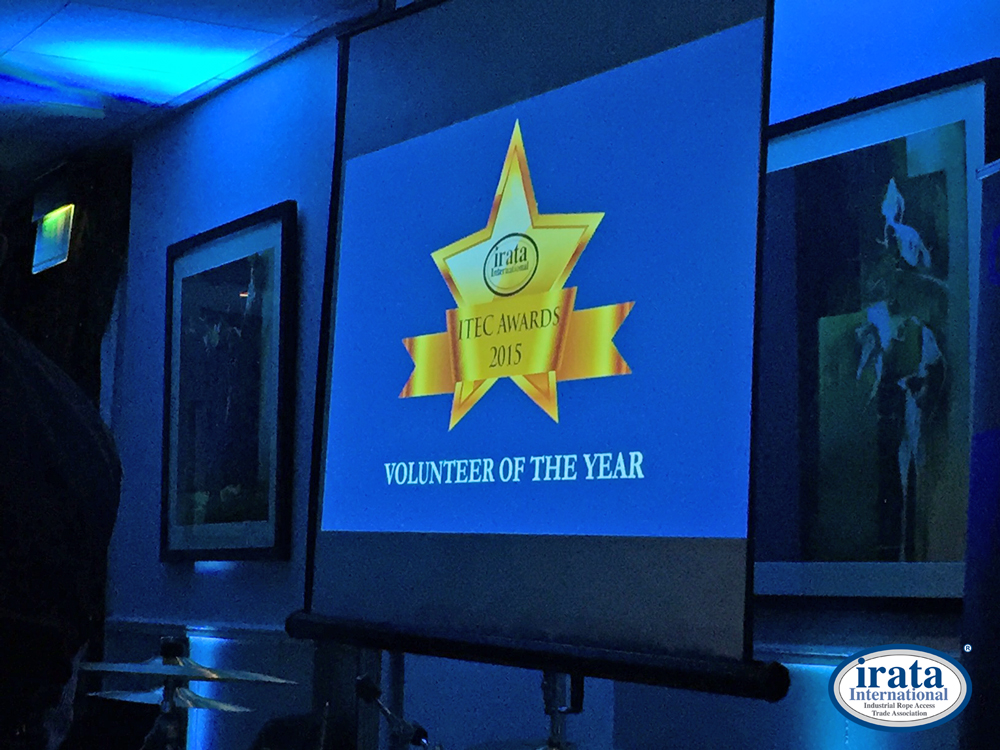 Announcement of the first ever Volunteer of the Year Award