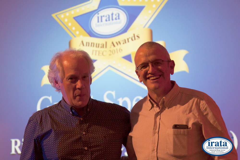 Graham Burnett & Richard Delaney - IRATA 2016 Annual Awards