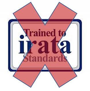 Not an official IRATA logo.