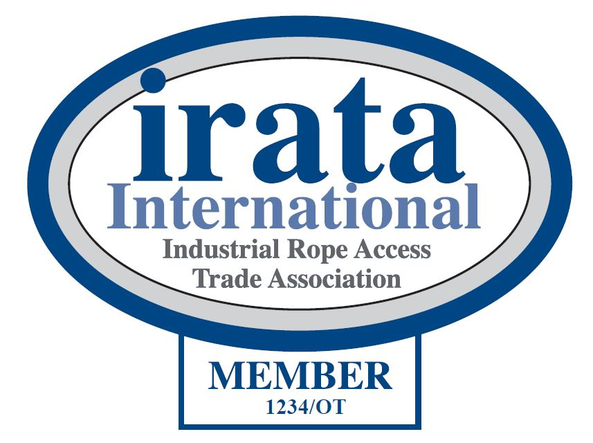 Official IRATA logo with Membership number.