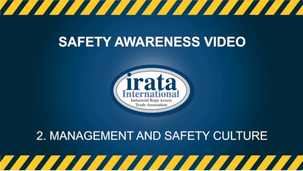 Safety Awareness Video - Edge and Rope Management