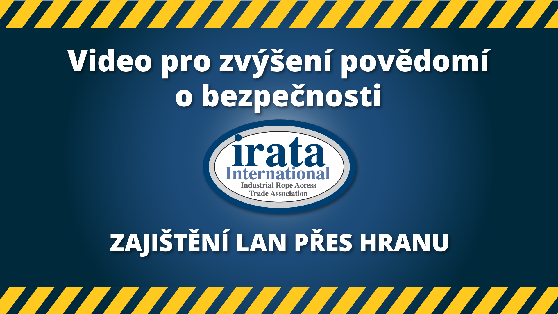 Thank you | IRATA International